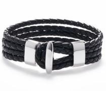 Armband 'Black silver 1288' schwarz / silber