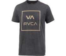 'VA ALL THE Way' T-Shirt beige / blau / grau