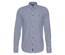 Hemd mit Karomuster blau / weiß