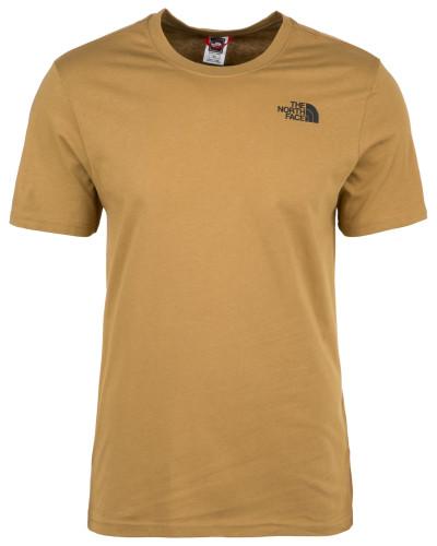 T-Shirt 'Redbox' hellbraun