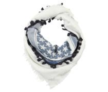 Schal mit Sternenmuster blau