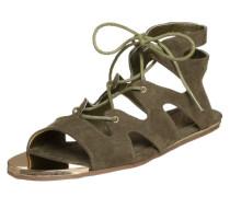 Sandalette im Römer-Style 'Mori' grün