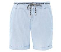 Smart Short: Leichte Baumwoll-Chino hellblau