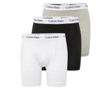 Pants im 3er-Pack graumeliert / schwarz / weiß