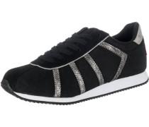 'Emerald' Sneakers schwarz / silber