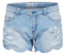 'Carmen Reg Shell Edge' Jeansshorts blue denim