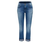 Relaxed Skinny Jeans blau