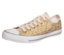 Chuck Taylor All Star OX Sneaker beige / gold