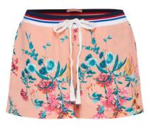 sommerliche Shorts rosa