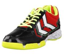 Handballschuhe 'Celestial Court X7' gelb / rot / schwarz / weiß