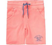 Sweatshorts für Jungen himmelblau / orange