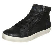 Sneaker mit Reißverschluss schwarz