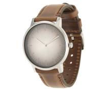 Armbanduhr 'Porter Leather' braun