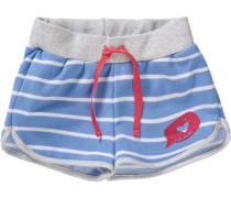 Shorts für Mädchen UV-Schutz 30+ blau / hellblau / grau / rot