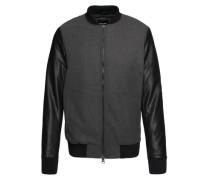 Bomberjacke 'oudie Jacket' schwarz