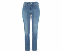 Stretch-Jeans 'Angela' blue denim