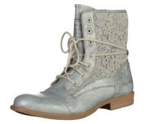 Shoes Schnür-Booty grau