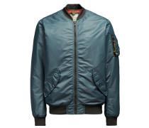 Blouson-Jacke blau