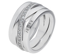 Ring 'Wrapping 60056323' silber