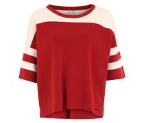 Pullover 'Jenette' rot / weiß