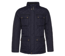 Jacke 'Quilted fieldjacket' blau