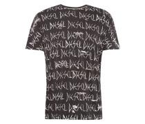 Shirt 't-Joe-Rq Hemd' schwarz / weiß