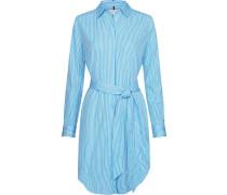 Blusenkleid 'Essential' weiß / blau