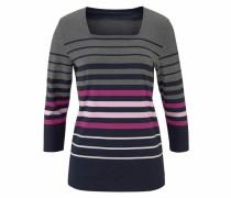 Shirt marine / graumeliert / rosa / dunkelpink