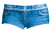 Bade Hotpants blue denim