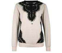 Sweatshirt 'azarak' camel / schwarz