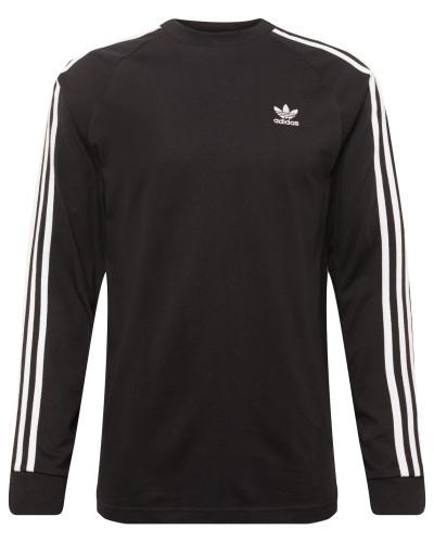 Sweatshirt 'LS T' schwarz / weiß