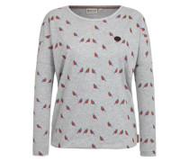Female Sweatshirt 'Yamuk des Grauens IV' graumeliert