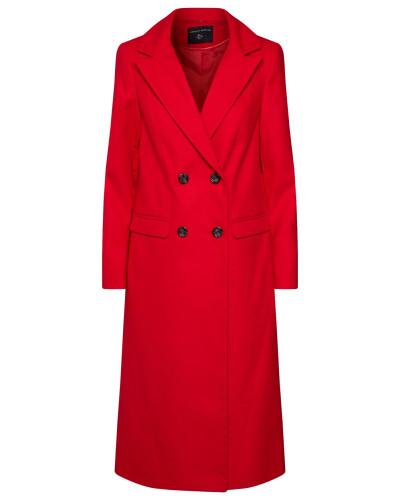 Mantel 'colour Crombie' rot