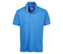 Poloshirt »Basic« blau