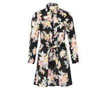 Kleid 'savannah Floral' mischfarben / schwarz