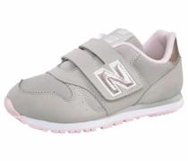 Sneaker 'kv373' grau / rosa / weiß