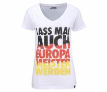 Dirts Em16 Vintage T-Shirt weiß