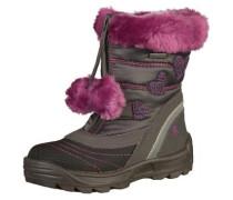 Stiefel grau / pink