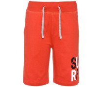 Sweatshorts 'nitkarl' orangerot