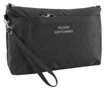 Switchbag Täschchen 20 cm schwarz