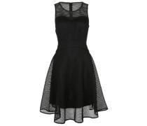 Kleider Rundhals schwarz