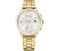 Multifunktionsuhr 'Casual Sport 1781786' gold