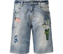 Jeansbermudas für Jungen hellblau