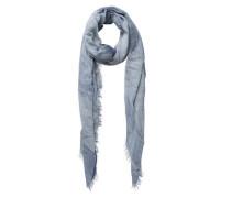 Langer Schal rauchblau