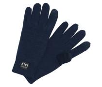 Klassische Handschuhe blau