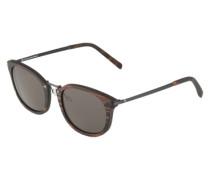 Sonnenbrille 'Herrmann' mit Ebenholz braun