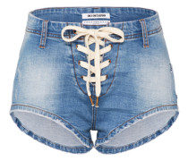 Hotpants 'Sixities' blue denim