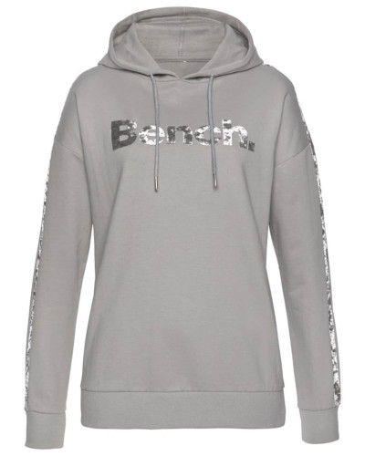 Sweatshirt grau / silber