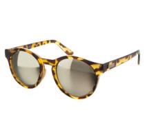 Runde Sonnenbrille 'Hey Macarena' schwarz / braun