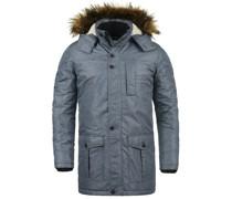 Winterjacke taubenblau